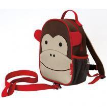 Mochila Lancheira com Cinto Zoo Macaco - Skip Hop