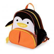 Mochila Zoo Pinguim Style Preto/Laranja - Skip Hop - Skip Hop