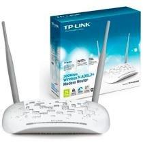 Modem Roteador Wireless N ADSL2+ de 300Mbps TD-W8961ND - TP-Link - TP-Link