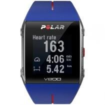 Monitor de Frequência Cardíaca Polar V800 GPS Azul HR - Polar