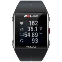 Monitor de Frequência Cardíaca Polar V800 GPS Preto HR - Polar