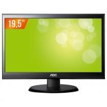 "Monitor LED 19,5"" Widescreen E2050SWN AOC - AOC"