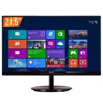 "Monitor LED 21,5"" Full HD 224E5QHAB PHILIPS - Philips"