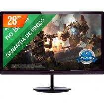 "Monitor LED 28"" Full HD 284E5QHAD PHILIPS - Philips"