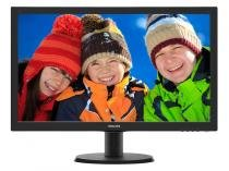 "Monitor Philips Tela LCD 23,6"" Full HD - Widescreen V 243V5QHAB"