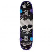 Monster High Skate com Acessórios Caveira Prata - Fun Divirta-Se - Fun Divirta-se