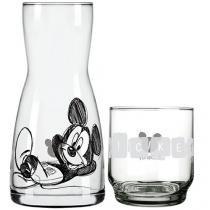 Moringa em Vidro 500ml - Nadir Disney Mickey Alegria