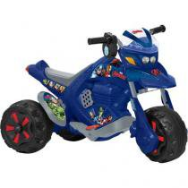 Moto Elétrica Infantil Avengers Disney ZX - 2 Marchas com Som Bandeirante