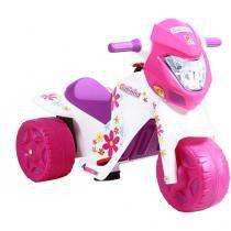 Moto Elétrica Infantil Ban Moto Cross Gatinha - 2 Marchas - Bandeirante