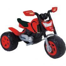 Moto Elétrica Infantil Elite - com Sistema de Amortecedor - Xalingo