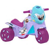 Moto Elétrica Infantil Frozen - Ban Moto 2 Marchas Bandeirante
