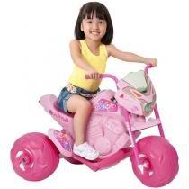 Moto Elétrica Infantil Moto Cross Fashion - 2 Marchas Bandeirante