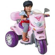 Moto Elétrica Infantil Sprint Custon Rosa - Biemme