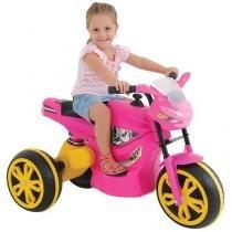 Moto Elétrica Infantil XTurbo com Luzes e Sons - Xalingo