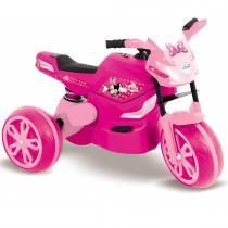 Moto Infantil Elétrica Minnie Disney Rosa 18387 - Xalingo - Xalingo