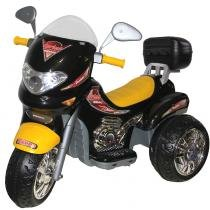 Moto Infantil Elétrica Sprint Custom Preta/Amarela 163 - Biemme - Biemme