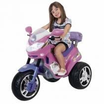 Moto Infantil Fada 6V Rosa/Lilás 1210L - Magic Toys - Magic Toys