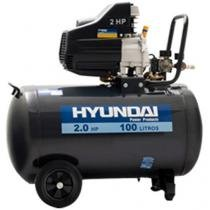 Motocompressor de Ar Hyundai 100L 2HP - HYAC100D-1 2850rpm