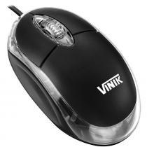 Mouse Óptico PS2 Preto MB-10 - Vinik - Vinik
