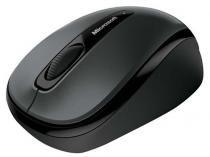 Mouse Sem Fio Óptico e Laser 1000dpi Microsoft - GMF-00380