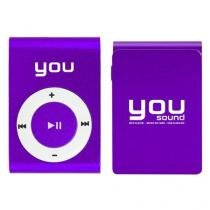 MP3 Player Clip 4GB - You Sound