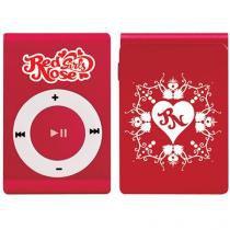 MP3 Player Red Nose Girls - com Cartão 8GB - Vermelho