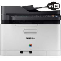 Multifuncional Samsung Xpress SL-C480FW - Laser Colorido Display LCD USB Wi-Fi