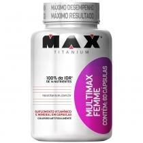 Multimax Femme 60 Cápsulas - Max Titanium - Natural - Max Titanium