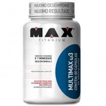 Multimax W3 com 60 Cápsulas - Max Titanium - Natural - Max Titanium