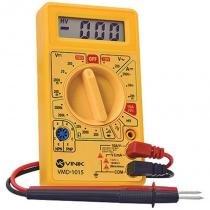 Multímetro Digital Amarelo VMD-1015 - Vinik - Vinik