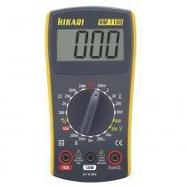Multímetro Digital HM1100 Amarelo/Cinza - Hikari - Hikari