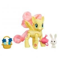 MY LITTLE PONY FIGURA MLP EE COM MOVIMENTO FLUTTERSHY - My Little Pony