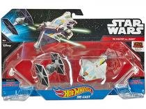 Nave Star Wars Hot Wheels 2 Peças Mattel - TIE Fighter vs. Ghost