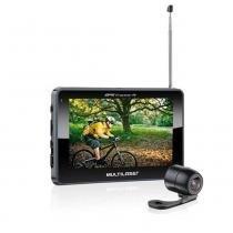 """Navegador GPS Multilaser Tracker III Tela 4.3"""" com Câmera de Ré e TV Digital - GP035 - Neutro - Multilaser"""