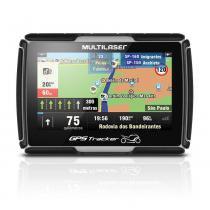 "Navegador GPS Multilaser Tracker para Moto Tela 4.3"" - GP040 - Neutro - Multilaser"