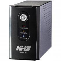 Nobreak Mini III 600VA Mono Bivolt Preto - NHS - NHS