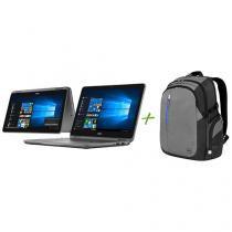 Notebook 2 em 1 Dell Inspiron 11 I11-3168-A10 - Intel Dual Core 4GB 500GB + Mochila para Notebooks