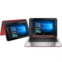 "Notebook 2 em 1 HP x360 Convertible 11-n225br - Pavilion Intel Quad Core 4GB 500GB 11,6""Windows 10"