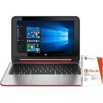 Notebook 2 em 1 HP x360 Convertible 11-n225br - Pavilion Intel Quad Core 4GB + Pacote Office 365