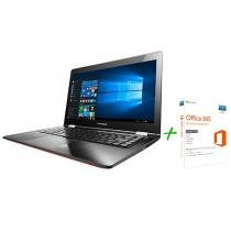 "Notebook 2 em 1 Lenovo Yoga 500 Intel Core i3 4GB - 500GB LCD 14"" Full HD + Office 365 Personal"