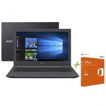"Notebook Acer Aspire E5 Intel Core i3 6º Geração - 4GB 500GB LED 15,6"" + Office Home & Business"
