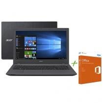 Notebook Acer Aspire E5 Intel Core i3 6º Geração - 4GB 500GB + Office Home and Student 2016