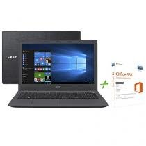 "Notebook Acer Aspire E5 Intel Core i5 6ª Geração - 8GB 1TB LCD 15,6"" + Office 365 Personal"