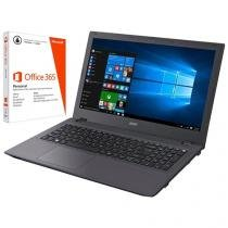"""Notebook Acer Aspire E5 Intel Core i5 - 8GB 1TB LED 15,6"""" + Pacote Office 365"""