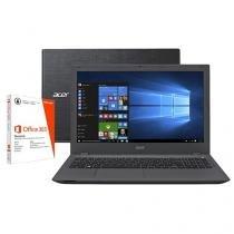 """Notebook Acer Aspire E5 Intel Core i7 6ª Geração - 16GB 2TB LCD 15,6"""" + Pacote Office 365 Personal"""
