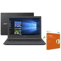 """Notebook Acer Aspire E5 Intel Core i7 6ª Geração - 8GB 1TB LCD 15,6"""" + Office Home and Student 2016"""