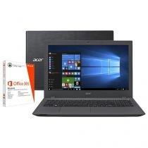 """Notebook Acer Aspire E5 Intel Core i7 6ª Geração - 8GB 1TB LCD 15,6"""" Windows 10 + Pacote Office 365"""