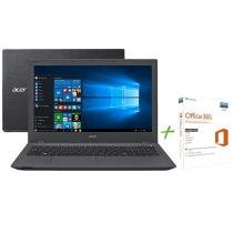 """Notebook Acer Aspire E5 Intel Core i7 - 8GB 1TB LED 15,6"""" + Office 365 Personal"""