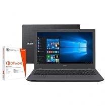 """Notebook Acer Aspire E5 Intel Core i7 8GB 1TB LED - 15,6"""" Placa de Vídeo 2GB + Pacote Office 365"""