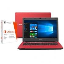 """Notebook Acer Aspire ES Series Intel Dual Core - 2GB 32GB LED 14"""" + Pacote Office 365"""